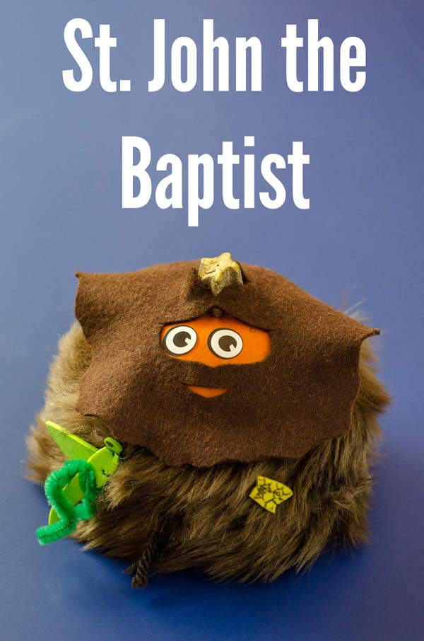 All Saints Day Craft Ideas: St  John the Baptist Pumpkin