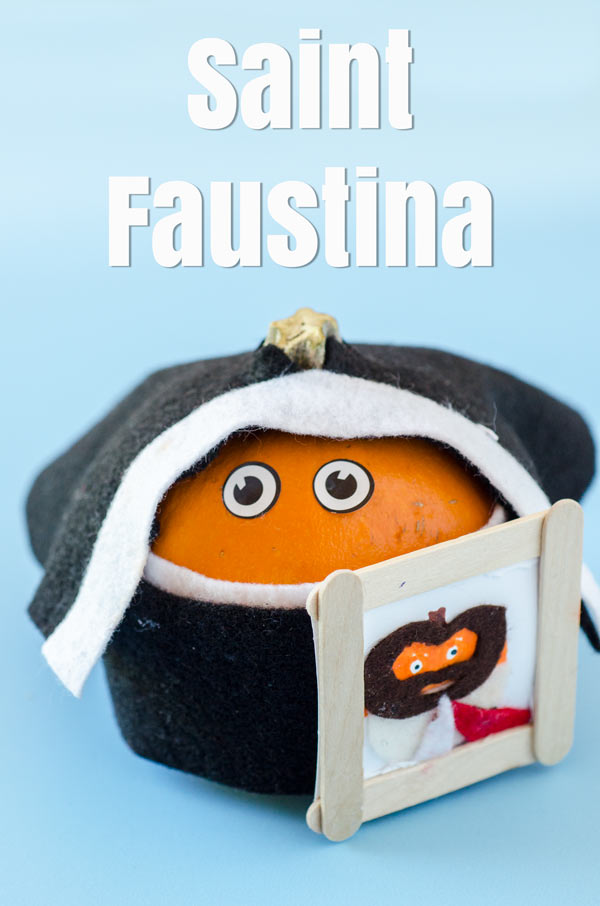 All Saints Day Crafts St Faustina Pumpkin Crafty