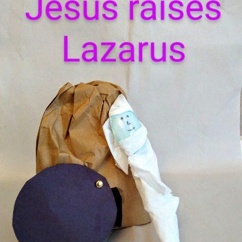 Jesus Raises Lazarus from the Dead Craft