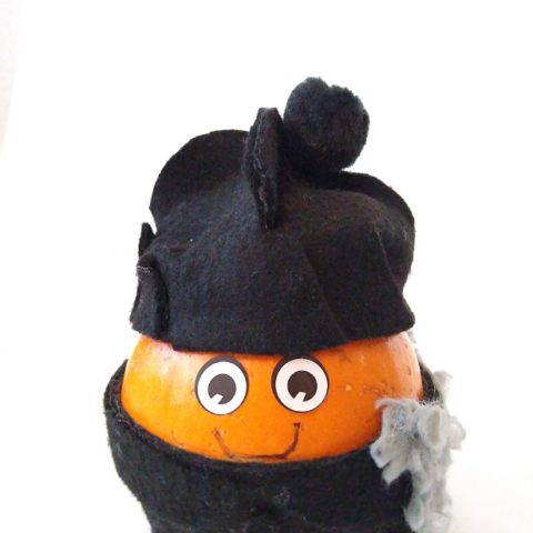 All Saints Day Crafts: St. John Bosco Pumpkin